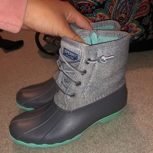 TEAL SPEERY DUCK BOOTS